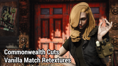 Commonwealth Cuts - Vanilla Match Hair Retextures