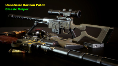 Unofficial Horizon Patch - LtCommander's Classic Sniper