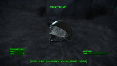 Black Covenant Security Helmet