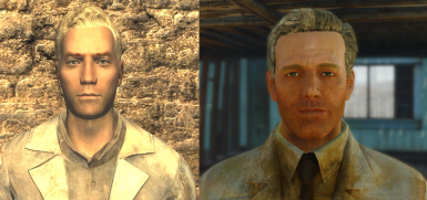 I think I nailed Gannon's expression pretty well here, paired with his plasma pistol he sure looks like his same old self.