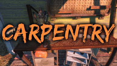 Carpentry - Cut and create wooden objects