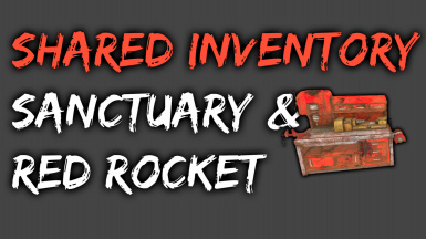 Shared inventory - Sanctuary and Red Rocket