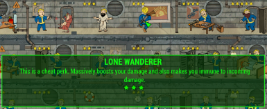 Lone Wanderer Cheat