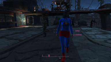 SuperGirl Vault 111 Suit re-texture