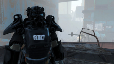 All Black Sesh - T45 Power Armor
