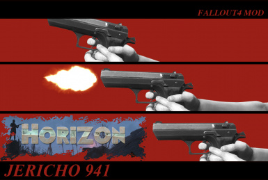 Jericho 941 and .44 AUTOMAG Horizon Patch