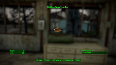 Fallout 4 Wedding Ring.Wedding Rings Together At Fallout 4 Nexus Mods And Community