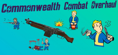 Commonwealth Combat Overhaul - Intense Firefights