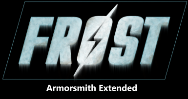 FROST - Armorsmith Extended - Patch
