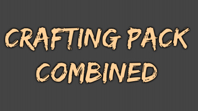 Crafting Pack Combined - Be an Artisan