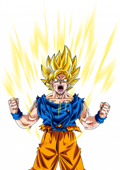 Super Saiyan Wanderer OVER 9000