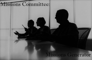 Missions Committee - A Mission Generator