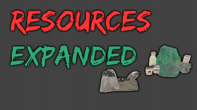 Resources Expanded (Base) - More and different scrap items