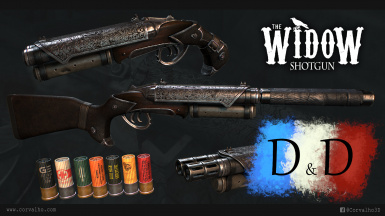 The Widow Shotgun by Corvalho - TRAD FR