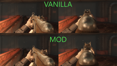 Ring iron sights comparison
