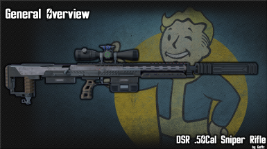 DSR 50  High Power Sniper Rifle
