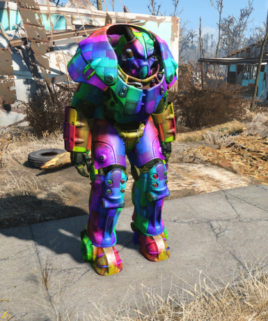 4k Multi-Colored PowerArmor
