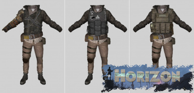 Chrislor's Armors and Clothes Horizon Patches