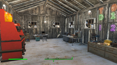 Inside a typical workshop (one in every settlement)