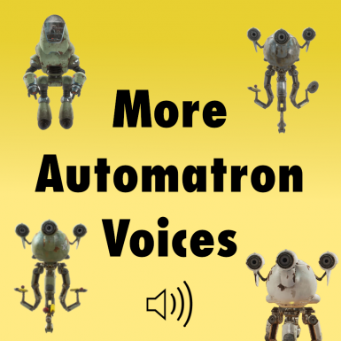 More Robot Voices for Automatron