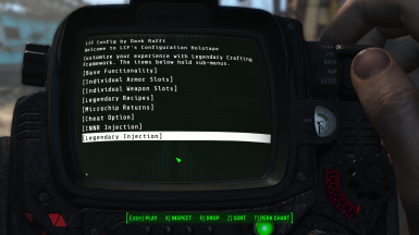 Legendary Crafting Framework at Fallout 4 Nexus - Mods and
