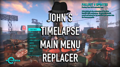 John's Timelapse Main Menu Replacer