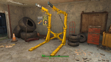 Vibrant Yellow Power Armor Rig