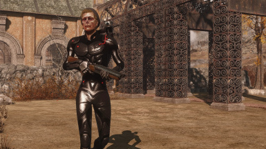 Stealth Suit Black/Red