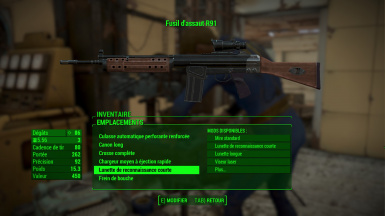 R91 - Fallout 3 Assault Rifle -FRENCH-