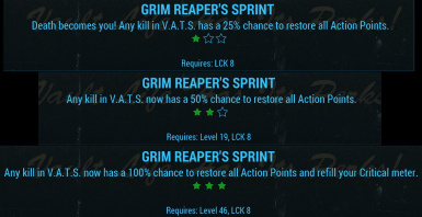 Grim Reaper's Sprint Ranks