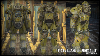T-45 Crash Dummy Suit - Standalone