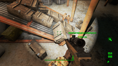 Location of the start sample ammo pack 2