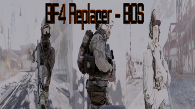 Brotherhood of Steel Replacer - BF4