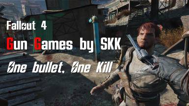 Gun Games (One bullet one kill) by SKK