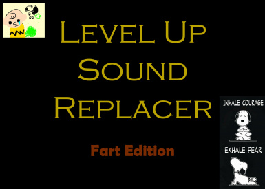 Level Up Sound Replacer - Fart Edition