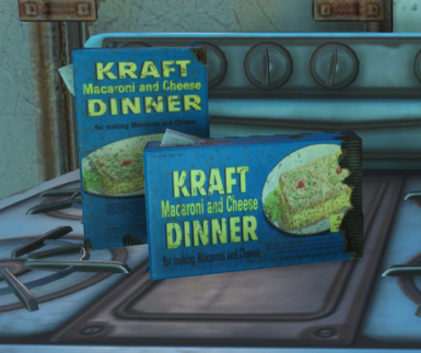 Immersive 1950s Kraft Mac n Cheese