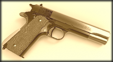 WWII Colt M1911 Pistol Replacer