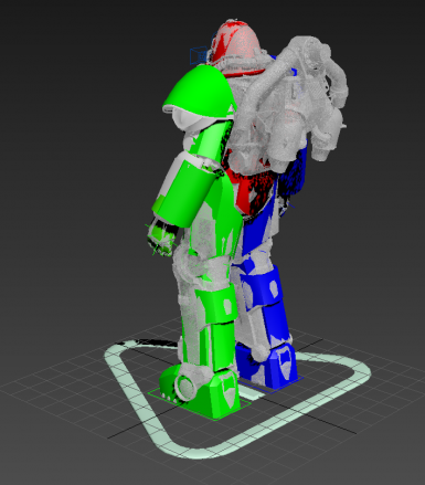 Fallout 4 Power Armor Rig for Animators