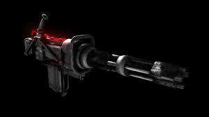 Minigun. Combat Rifle. Hunting Rifle. Damage Modifications