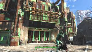 Diamond City Gate Clean up
