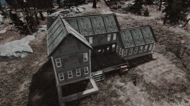 Far Harbor Visitor's Center restored in and out