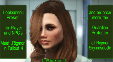 Rigmor - Looksmenu Preset for Female Players and NPC's at