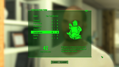New Character Creation - Husband Wife and FO3 Starting Stats - SPECIAL Points and Perks