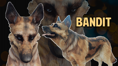 Dogmeat Retextured - Bandit