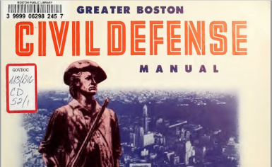 Greater Boston Civil Defense Manual