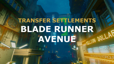 TRANSFER SETTLEMENTS - BLADE RUNNER AVENUE
