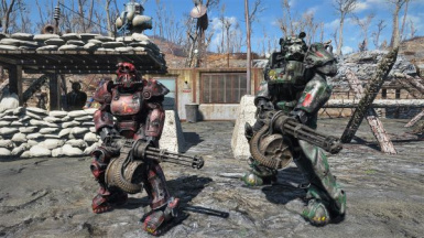 Nat Companion with Junior Power Armor - NatalieCompanion - PTBR