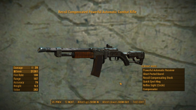combat rifle rechambered to 5mm at fallout 4 nexus mods and community