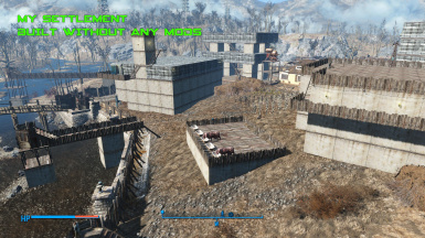 Build unlimited settlement without any mod