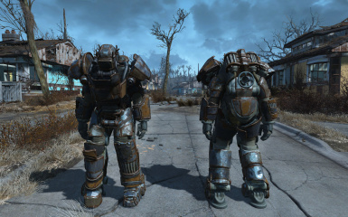 streamlined raider power armor at fallout 4 nexus mods and community